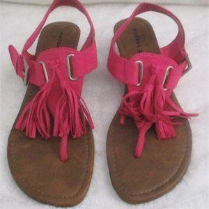 Madden Girl Pink Tassel Sandals Sz 9 Welview
